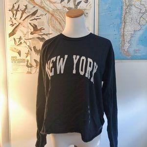NEW YORK John Galt long sleeve teeshirt